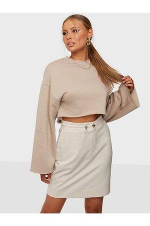 Vero Moda Naiset Minihameet - Vmmarla Hw Abk Sweat Skirt Jrs Ga