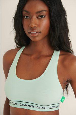 Calvin Klein Naiset Bralette - CK One Bralette - Green