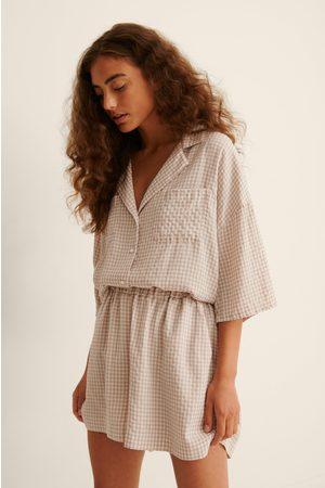 NA-KD Naiset Pyjamat - Leveät Joustavat Oloasushortsit