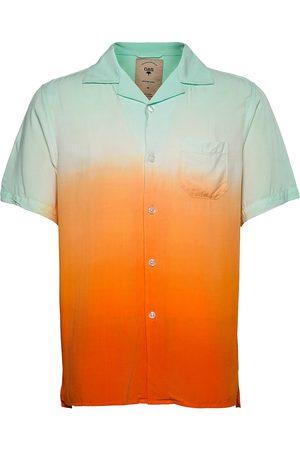 Oas Sunset Grade Shirt Lyhythihainen Paita Sininen