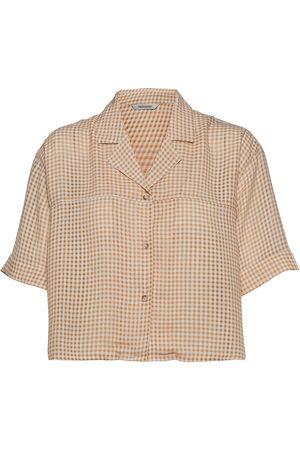 Holzweiler Edgar Cropped Shirt Lyhythihainen Paita