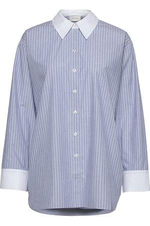 Gestuz Lestergz Oz Shirt Pitkähihainen Paita Sininen