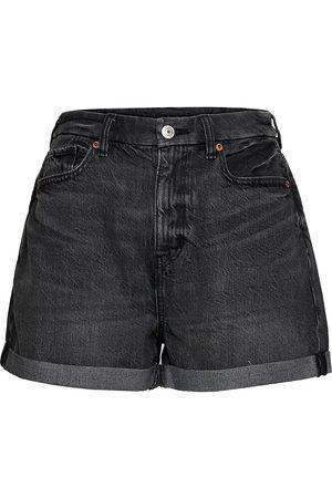 AMERICAN EAGLE Naiset Farkkushortsit - Ae Curvy Denim Mom Shorts Shorts Denim Shorts