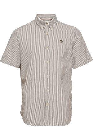 Timberland Miehet Lyhythihaiset - Ss Sersucker Shirt Lyhythihainen Paita Valkoinen