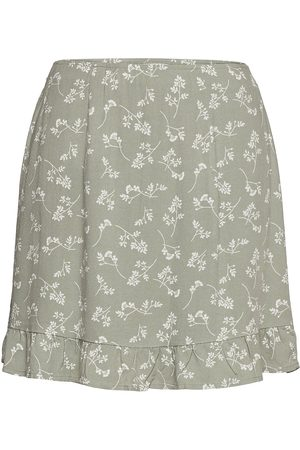 Abercrombie & Fitch Anf Womens Skirts Lyhyt Hame Musta