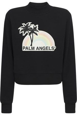 Palm Angels Lvr Exclusive Rainbow Fitted Sweatshirt