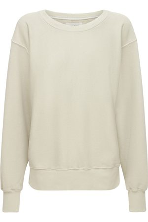 Les Tien Cropped Crew Sweatshirt