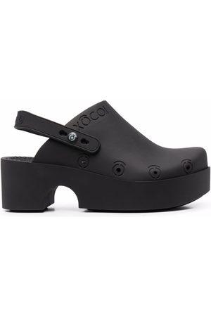 xocoi Naiset Puukengät - Slingback mule clog shoes