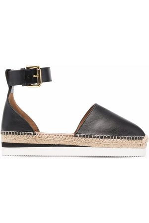 See by Chloé Naiset Espadrillot - Glyn leather flat espadrilles