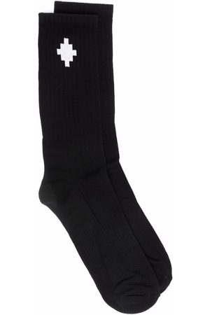 MARCELO BURLON Miehet Sukat - Cross ankle-length socks