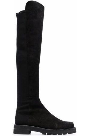 Stuart Weitzman Round-toe knee-length boots
