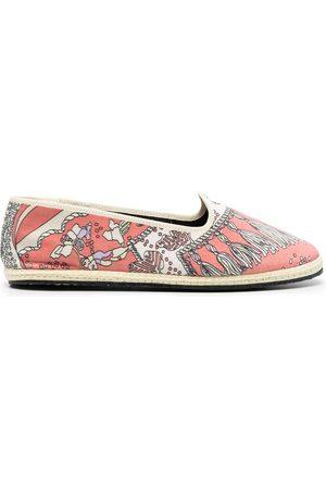 Emilio Pucci Naiset Tohvelit - Friulana Rugiada print slippers
