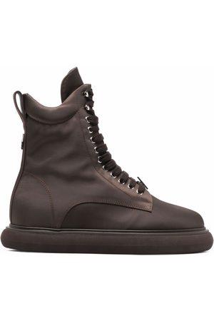 The Attico Naiset Nauhalliset saappaat - Selene lace-up chunky-sole boots