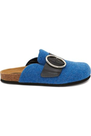 J.W.Anderson Naiset Loaferit - Felt buckle loafers