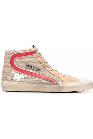 Golden Goose Naiset Loaferit - Star-patch lace-up sneakers