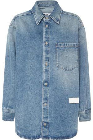 MM6 MAISON MARGIELA Naiset Farkkupaidat - Vintage Cotton Denim Shirt