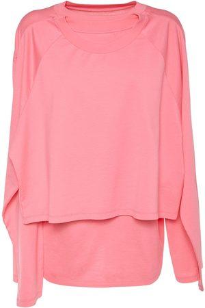 MM6 MAISON MARGIELA Layered Cotton Jersey T-shirt