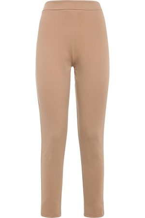 Max Mara Naiset Kapeat - Jersey Skinny Pants