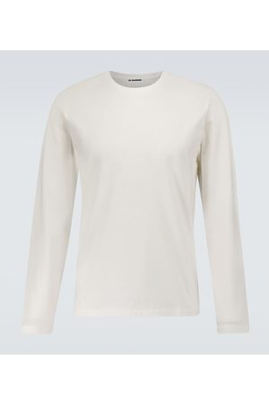 Jil Sander Long-sleeved cotton T-shirt