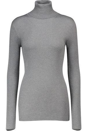 Brunello Cucinelli Naiset Poolopaidat - Cashmere and silk-blend sweater