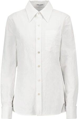 Saint Laurent Cotton and linen shirt