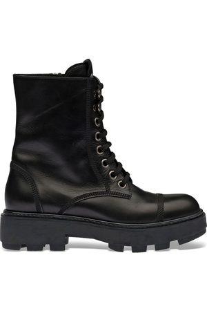 Miu Miu Naiset Nauhalliset saappaat - Lace-up ankle-length boots