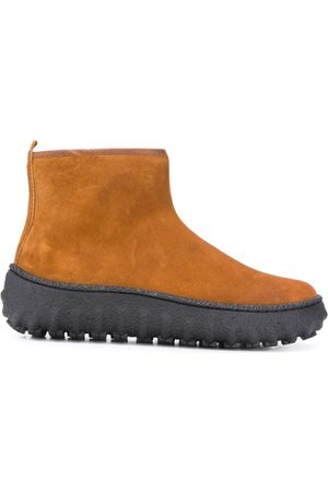 Camper Naiset Nilkkurit - Ground suede-effect ankle boots