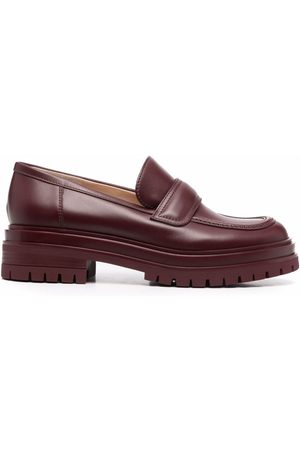 Gianvito Rossi Naiset Loaferit - Argo leather loafers
