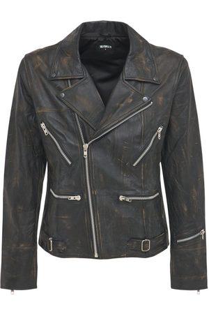 The People Vs Miehet Nahkatakit - Ryder Leather Jacket