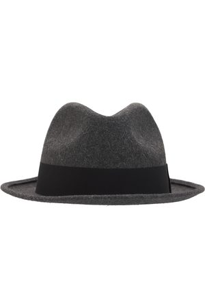 Saint Laurent Miehet Hatut - Fedora Hat W/ Grosgrain Ribbon