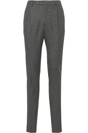 PANTALONI TORINO Miehet Kapeat - Super Slim Stretch Wool & Silk Pants