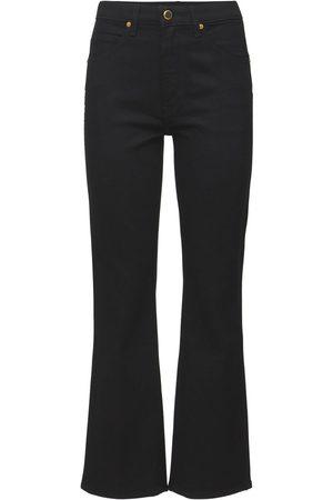 KHAITE Vivian New Bootcut Flare Cotton Jeans