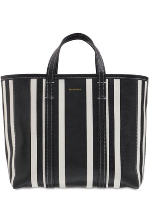 Balenciaga Medium Barbes Leather Tote Bag