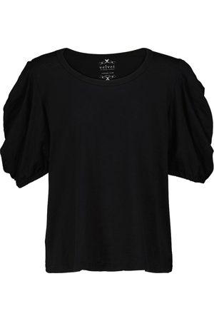 Velvet Naiset T-paidat - Kiera cotton jersey T-shirt