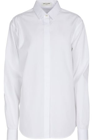 Saint Laurent Naiset Pitkähihaiset - Cotton shirt
