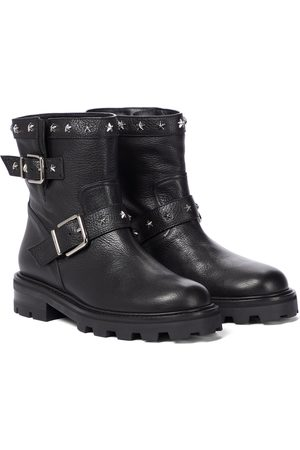 Jimmy Choo Youth II studded leather ankle boots