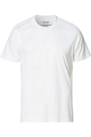 Eton Filo Di Scozia Cotton T-Shirt White