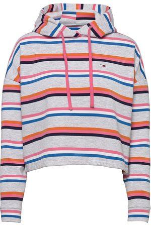 Tommy Hilfiger Tjw Bxy Crop Multi Stripe Hoodie Huppari