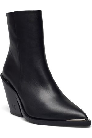 The Kooples Chaussure Shoes Boots Ankle Boots Ankle Boot - Heel