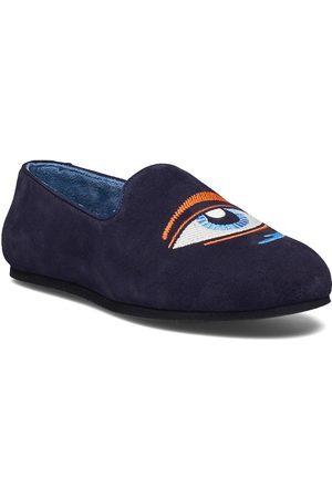 Hums Suede Eye Loafer Loaferit Matalat Kengät