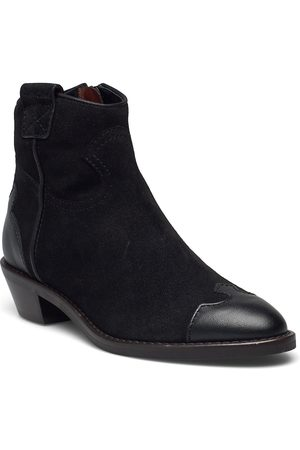 See by Chloé Cowboy Shoes Boots Ankle Boots Ankle Boot - Flat Musta