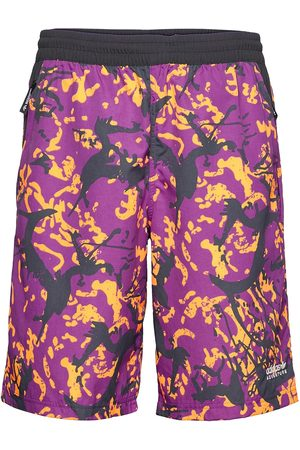 adidas Adventure Archive Printed Woven Shorts Shorts Casual Vaaleanpunainen
