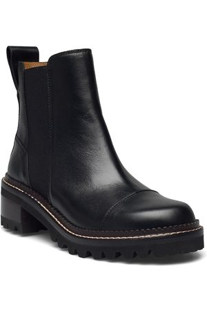 See by Chloé Chelsea Shoes Chelsea Boots Ruskea