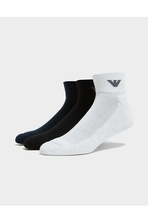 Emporio Armani 3-Pack Trainer Socks - Mens