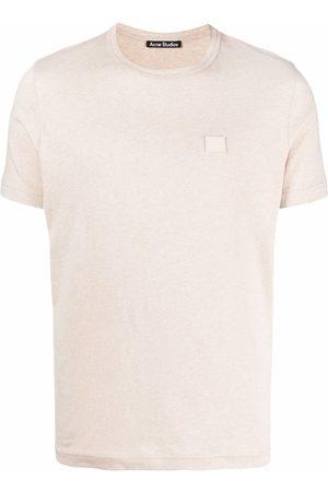 Acne Studios Face patch cotton T-shirt