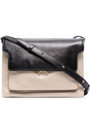 Marni Two-tone partitioned crossbody bag