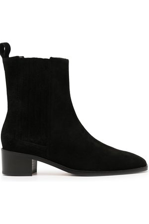 aeyde Neil suede Chelsea boots