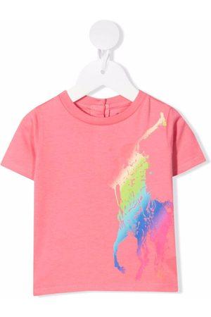 Ralph Lauren Kids Polo Pony-print cotton T-shirt