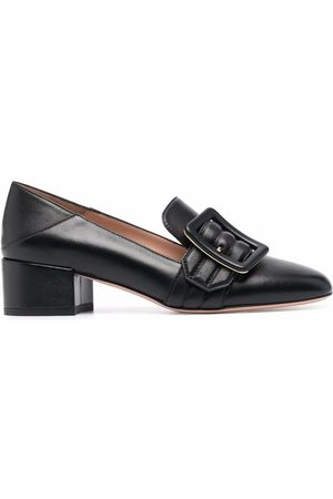 Bally Collapsable-back leather loafers