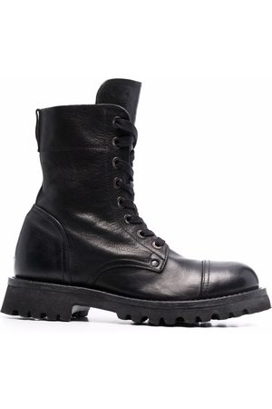 Moma Long lace-up leather boots